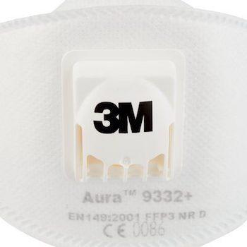 Респиратор 3M™ Aura™ 9332+ FFP3 c клапаном выдоха