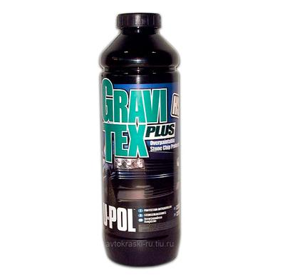 GRAVITEX PLUS HS 1л. серый, антигравийное покрытие